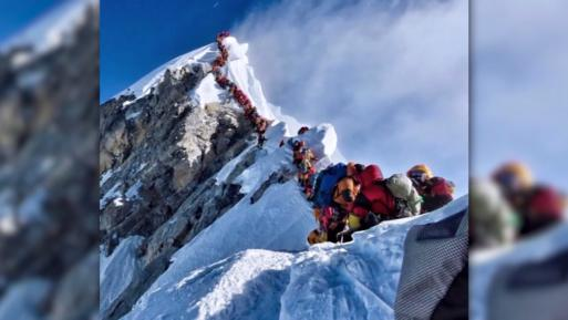 Tote Bergsteiger am Mount Everest