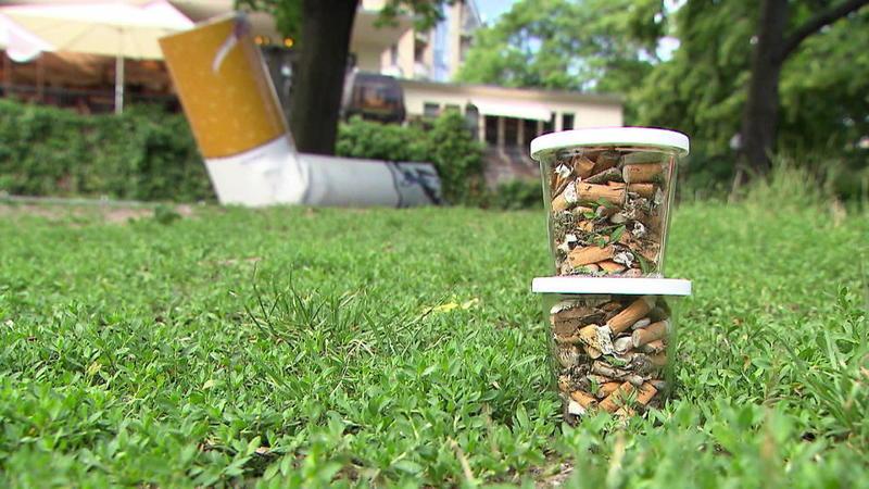 Für Die Umwelt Pfand Auf Zigaretten Stummel Setzen Jetzt Online